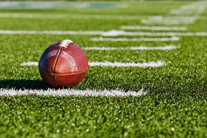 Football am Feld