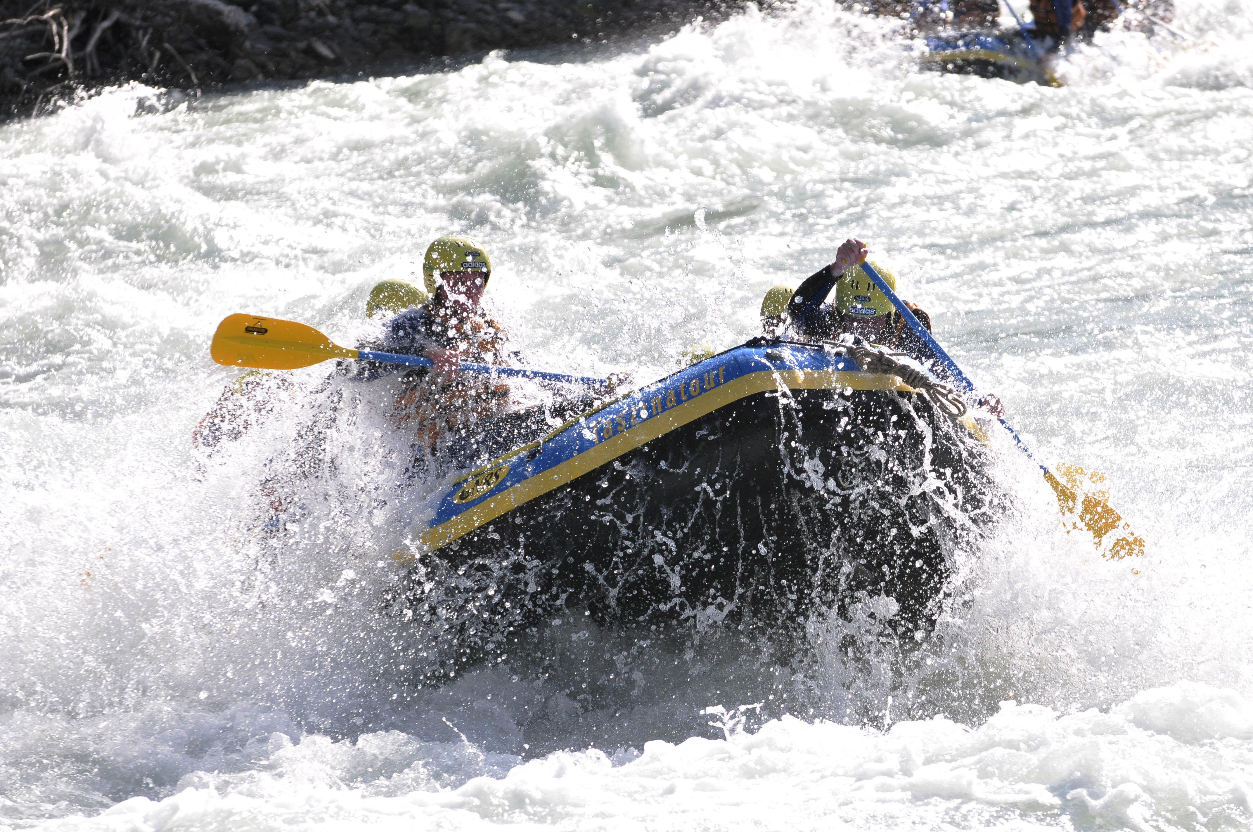 Rafting: abenteuerliches und erfrischendes Sporterlebnis!