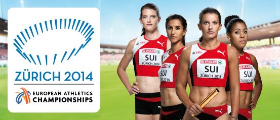 Leichtathletik EM 2014 Zürich