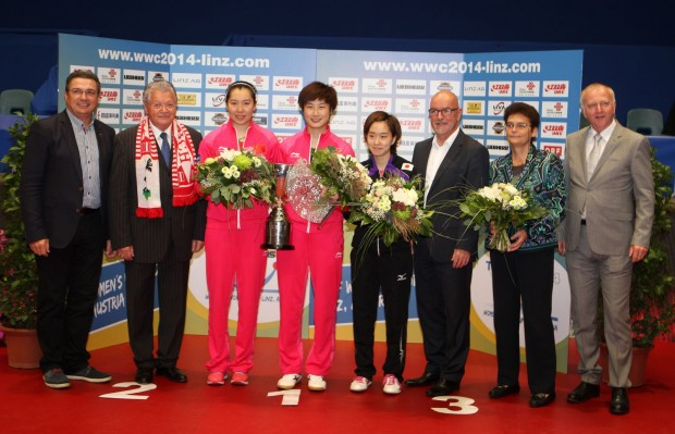Tischtennis Women's World Cup Linz