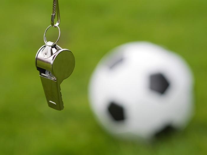 Foto zum Thema Fußball-Schiedsrichter