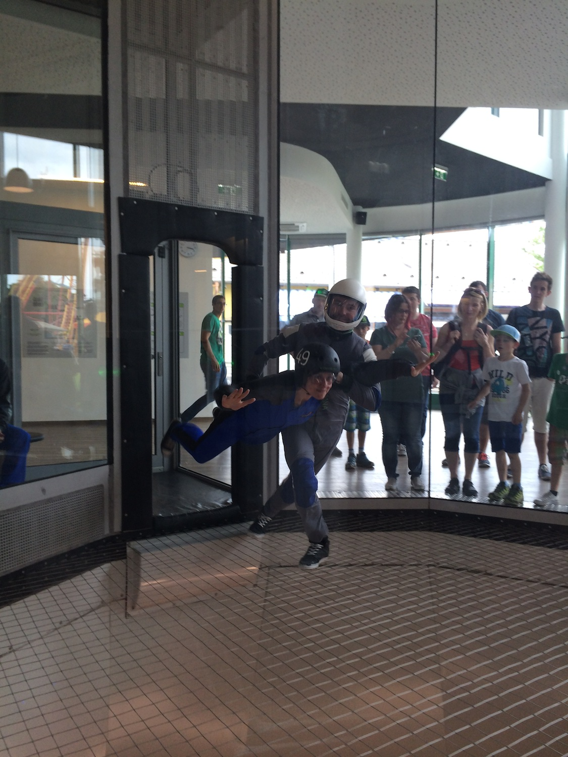 Indoor Skydiving